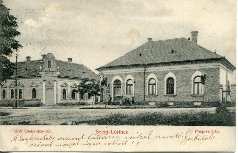 8. Gróf Csekonics-ház